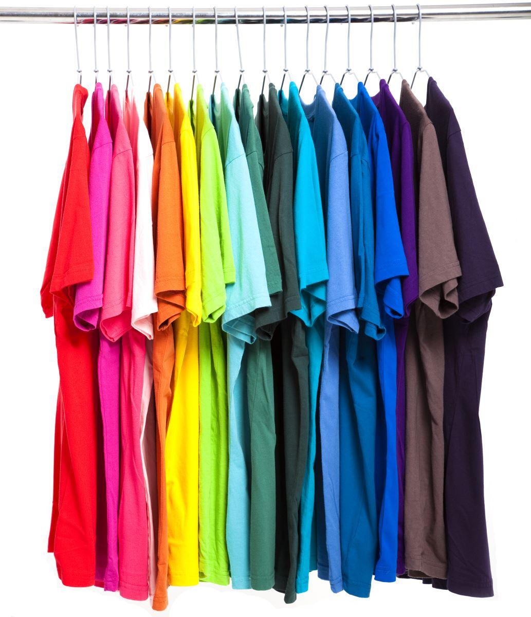 Tìm màu sắc phù hợp cho áo thun đồng phục