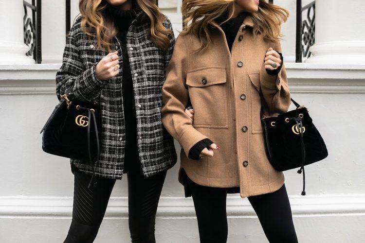 Áo khoác túi hộp vải nỉ phù hợp với nhiều phong cách